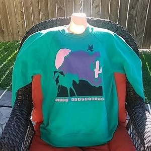Vintage southwestn style sweatshirt
